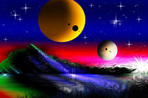 "Exoplanet ""Gemini Terra Alpha 2188"" ! von Bernd Vagt"