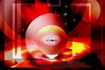 Matter in solar fire. by Bernd Vagt