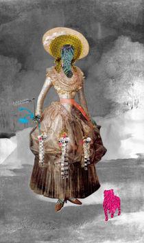 Marquesa de Pontejos - Collage von Marko Köppe