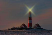 Westerhever Leuchtturm  von Cornelia Dettmer