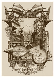 Steampunk: Life in Our New Century! by John Coulthart