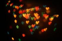 bokeh hearts by Lazar Alexandru