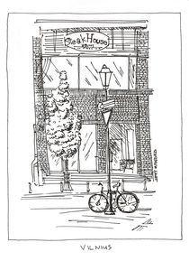 Bike in the Old Town by Raimondas Žukauskas