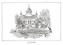 Church in Užupis by Raimondas Žukauskas