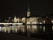 Fraumunster, Zurich by Elizabeth Marsden