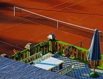Red Tennis Court von Dejan Knezevic
