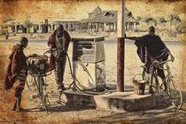 Maasai refuelling by Giuseppe Maria Galasso