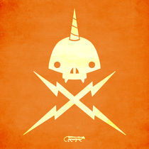 Yeticorn Skull & bolts von andrew bargeron