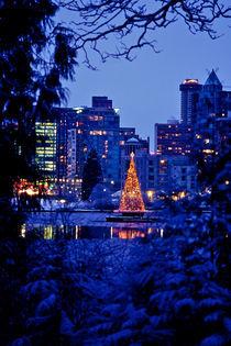 Christmas Skyline 464 von Patrick O'Leary