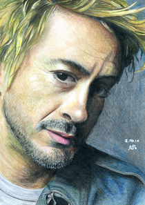 Robert Downey junior by Marie Shiyan