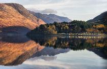 Reflections of Loch Leven Scotland von Jacqi Elmslie