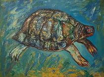 Flying Turtle von Aleksandr Trachishin