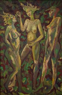 Three Goddesses von Aleksandr Trachishin