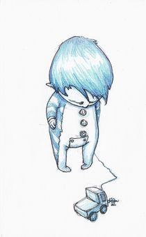 Azul by Karyna Calderon