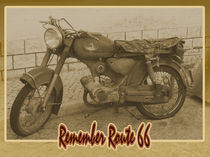 Remember Route 66 von Roland H. Palm