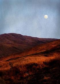 Full Moon Over Rannoch Moor by Jacqi Elmslie