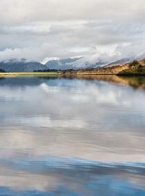 Mist on Loch Leven Scotland by Jacqi Elmslie