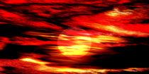 Brennender Himmel. von Bernd Vagt
