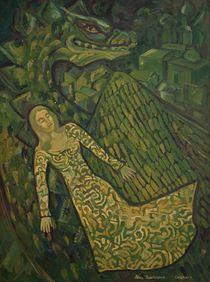 Anna and Dragon von Aleksandr Trachishin