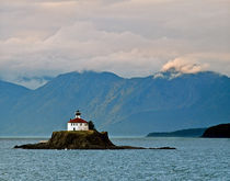 Eldred Rock Lighthouse Skagway by Michael Peychich