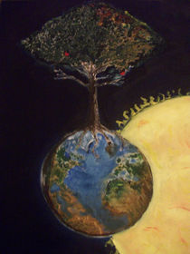The Genesis tree  by Ikpe Ikpe