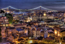Lisbon, Graça viewpoint. by Filipe Costa