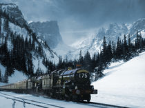 Winter Express by etery podolsky
