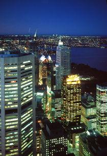 Sidney skyline by martino motti