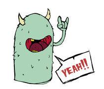 Hell yeah!! by Gustavo Monky Urquieta
