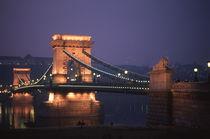 Budapest at sunset by martino motti