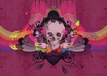 Skull Rainbow by les-hamecons-cibles