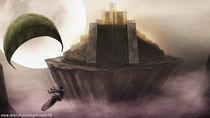 Lunar Ancient Castle by hiroshi