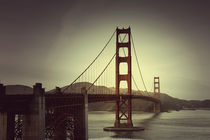 golden gate bridge von Alena Rubtsova