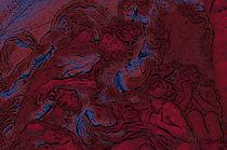 Rostros en rojo von Ricardo Anderson