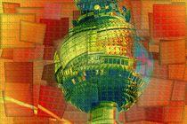 Fernsehturm Berlin by Petra Hinz
