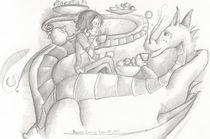 The Dragon Takes His Tea von Michelle Fritz