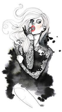 Jap lace von Sara Ligari
