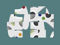 Digital turned analog. von George Panayiotou