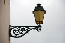 Old street lamp by vlad