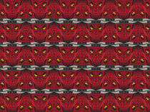 Devil Tessellation by elusiveillusion