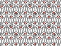 Rabbit Tessellation von elusiveillusion