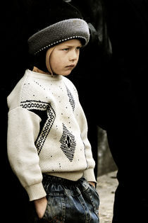 sullen boy... by Diana Kartasheva