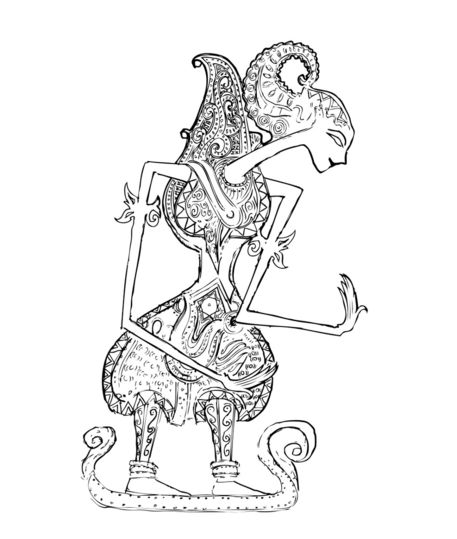 Female-shadow-puppet
