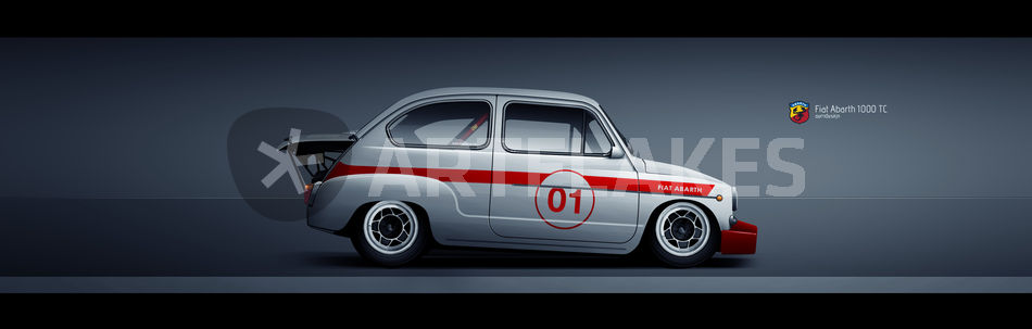 FIAT ABARTH 1000 TCR Poster