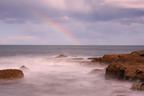 Rainbow over Soldiers Beach by Mark Lucock
