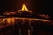Paris- Eiffel Tower at night by Gautam Tingre