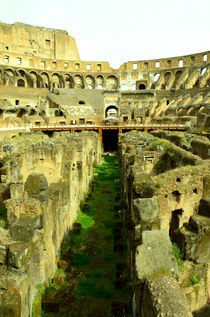 Rome- Colosseum interiors by Gautam Tingre