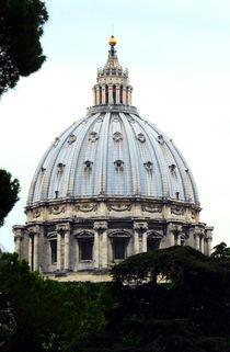Rome- St.Peter's Basilica dome by Gautam Tingre