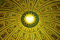 Rome-st-peters-basilica-main-dome-interior