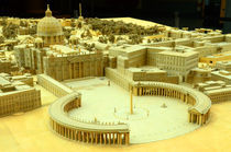 St.Peter's Basilica model, Rome by Gautam Tingre